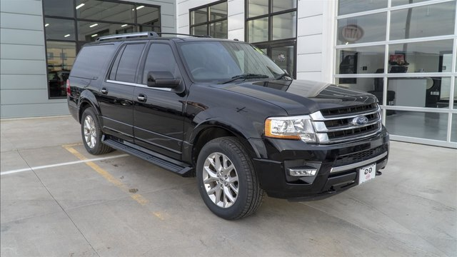 Ford Expedition El >> Pre Owned 2016 Ford Expedition El Limited Suv In Dodge City F49973