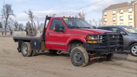 Pre-Owned 1999 Ford F-350 XLT